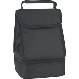 Company Dual Compartment Lunch Bag