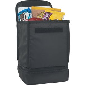 Advertising Dual Compartment Lunch Bag