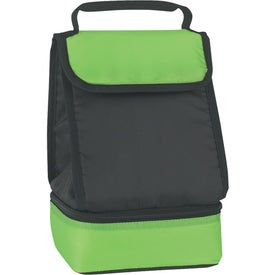 Promotional Dual Compartment Lunch Bag