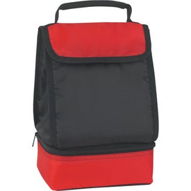 Dual Compartment Lunch Bag for Your Company