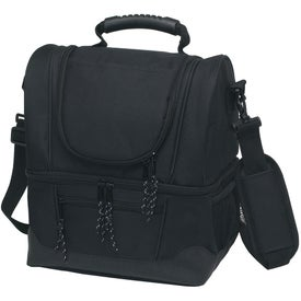 Dual Compartment Kooler Bag for Advertising