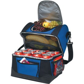 Logo Dual Compartment Kooler Bag