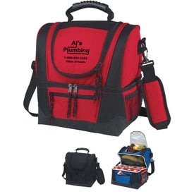 Dual Compartment Kooler Bag with Your Logo
