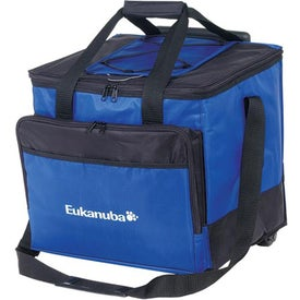 Easy Access Roller Cooler Imprinted with Your Logo