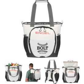 Engel Backpack Cooler (White, 23 Qt.)