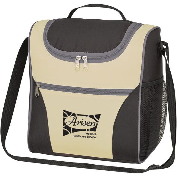 Natural / Black / Gray Field Trip Cooler Bag