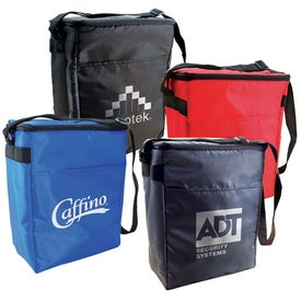 Fit Your Budget 12 Pack Cooler Bag with Your Slogan