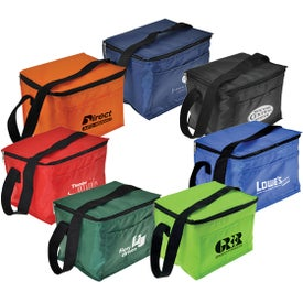 Fit Your Budget 6 Pack Cooler Bag for Marketing