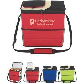 Custom Flip Flap Insulated Kooler Bag