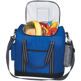 Monogrammed Flip Flap Insulated Kooler Bag with Strap