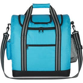 Flip Flap Insulated Kooler Bag with Strap for Advertising