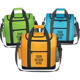 Custom Flip Flap Insulated Kooler Bag with Strap
