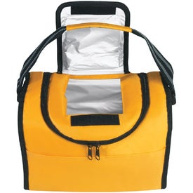 Logo Flip Flap Insulated Lunch Bag