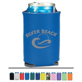 Folding Can Cooler (1 Sided Imprint)