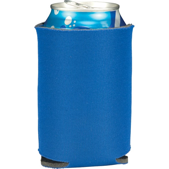 Royal Blue Folding Can Cooler