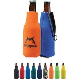Folding Foam Bottle Cooler with Your Logo