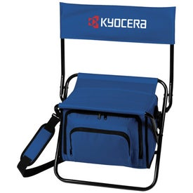 Folding Insulated Cooler Chair with Your Logo