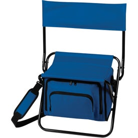 Imprinted Folding Insulated Cooler Chair