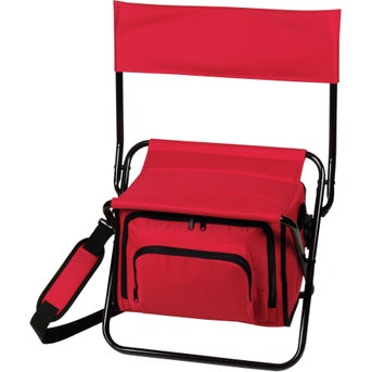 Promotional Folding Insulated Cooler Chairs With Custom Logo For