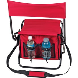 Advertising Folding Insulated Cooler Chair