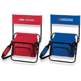 Monogrammed Folding Insulated Cooler Chair