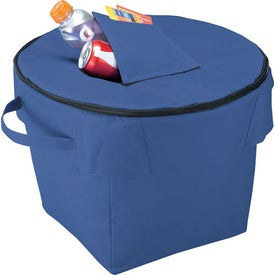 Game Day Standing Tub Cooler for Advertising