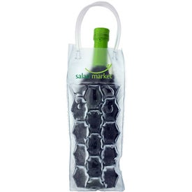 Gel Wine Tote with Your Slogan