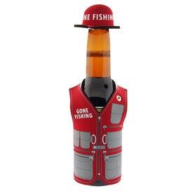 Gone Fishing Stubby Cooler