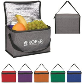Heathered Non-Woven Cooler Lunch Bags
