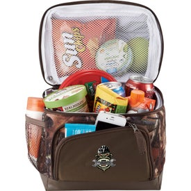 Hunt Valley Dual Compartment Lunch Cooler Branded with Your Logo