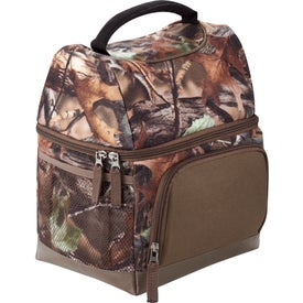 Printed Hunt Valley Dual Compartment Lunch Cooler