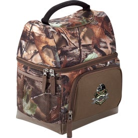 Imprinted Hunt Valley Dual Compartment Lunch Cooler
