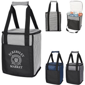 Hunter Houndstooth Cooler Bag