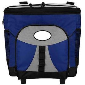 Imprinted I-Cool Rolling Cooler