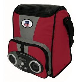 Custom I-Cool TM Large Stereo Cooler