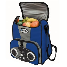 I-Cool TM Large Stereo Cooler Printed with Your Logo