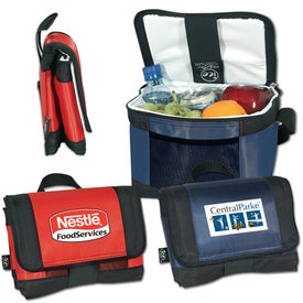 Ice 6-Can Cooler with Coolflex for Marketing
