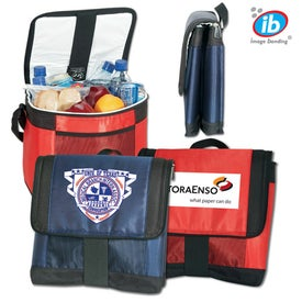 Ice 24-Can Cooler with Coolflex with Your Slogan