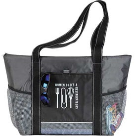 Icy Bright Cooler Tote Printed with Your Logo