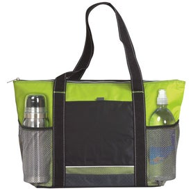 Personalized Icy Bright Cooler Tote