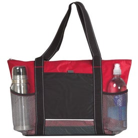 Imprinted Icy Bright Cooler Tote
