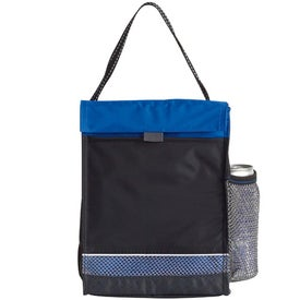Personalized Icy Bright Lunch Sack