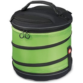Igloo Deluxe Collapsible Cooler with Your Slogan