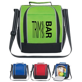 Insulated Lunch Bag with Adjustable Strap