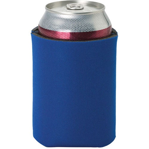 Blue Insulated Can Sleeve