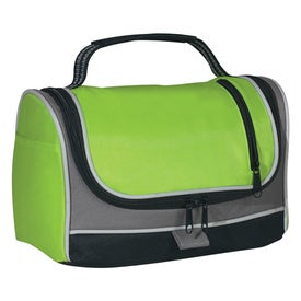 Logo Zippered Insulated Lunch Bag