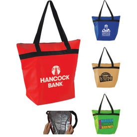 Insulated Shopper Tote Cooler