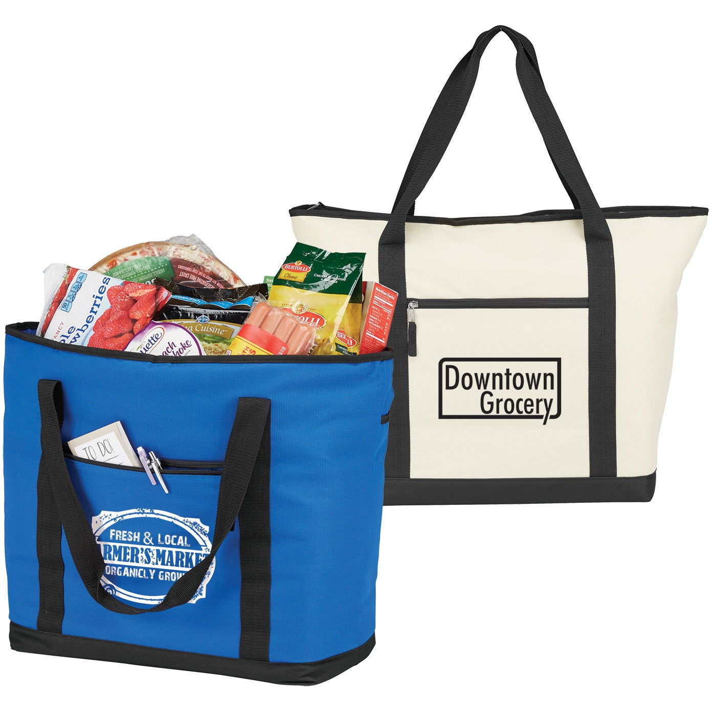 Jumbo Cooler Tote Bag Giveaways
