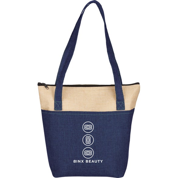 Navy Blue / Tan Kai 9 Can Lunch Cooler
