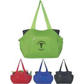 Printed Kooler Tote Bag